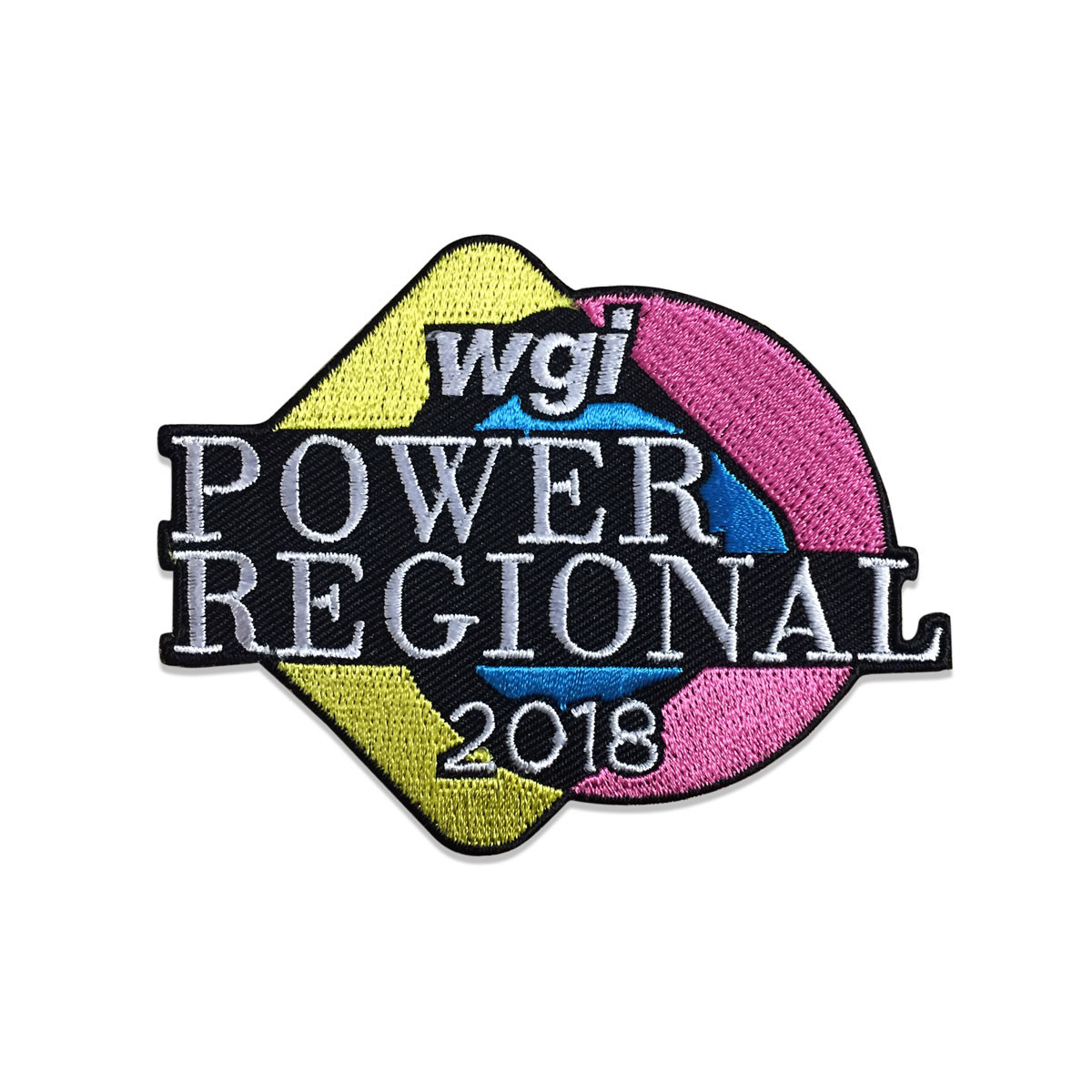 2018 WGI Power Regional Patch