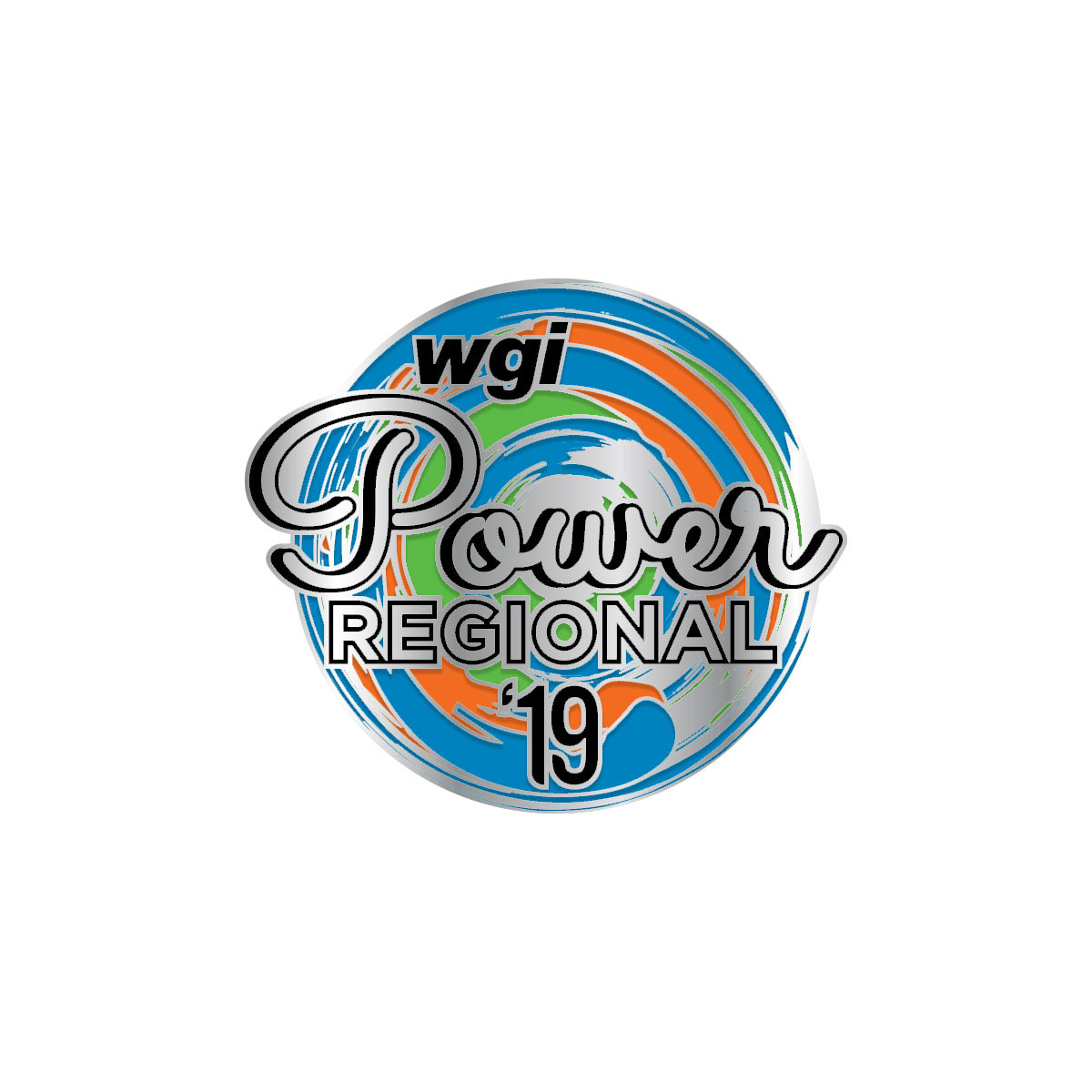 2019 WGI Power Regional Pin