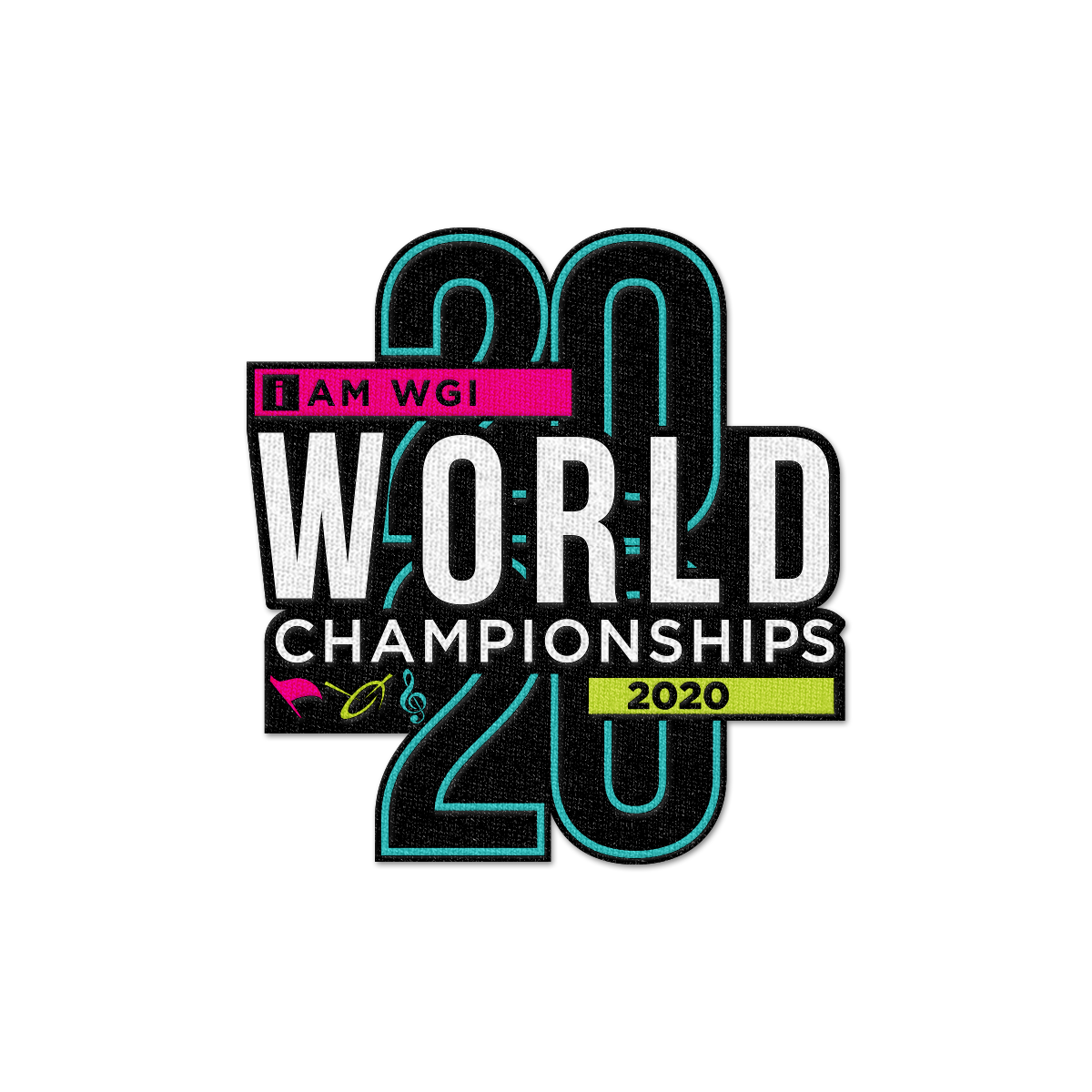 2020 WGI World Championship Patch