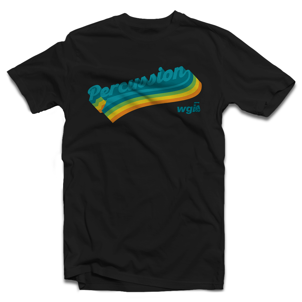 WGI Percussion Retro T-Shirt