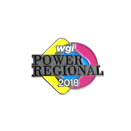 2018 WGI Power Regional Pin