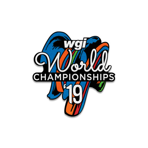2019 WGI World Championship Event Patch
