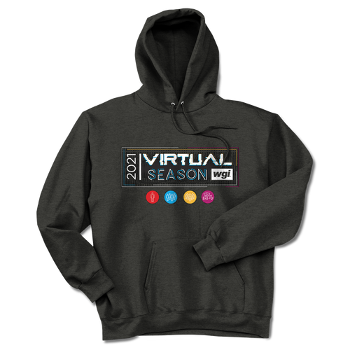 2021 WGI Virtual Season Dark Heather Hoodie