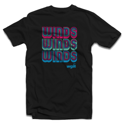 WGI Winds Retro T-Shirt