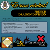 French Dragon Division (Mid-Late War) Attachment Pack