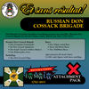 Russian Don Cossack Brigade (Revolution-Early-Mid-Late War) Attachment Pack