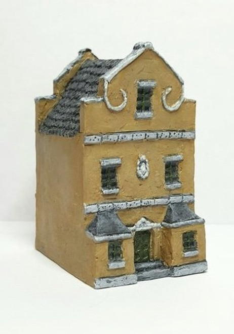 Dutch / Belgian Townhouse with Triangular Gables