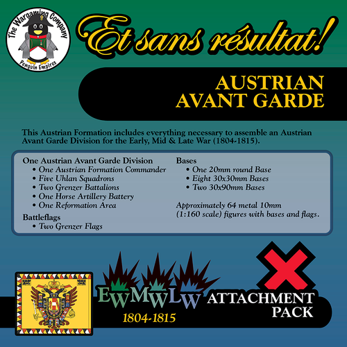 Austrian Avant Garde (Early-Mid-Late War) Attachment Pack