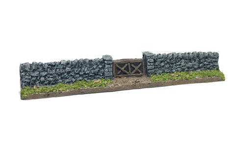 Gated Stone Wall Sections (Pack of 4)