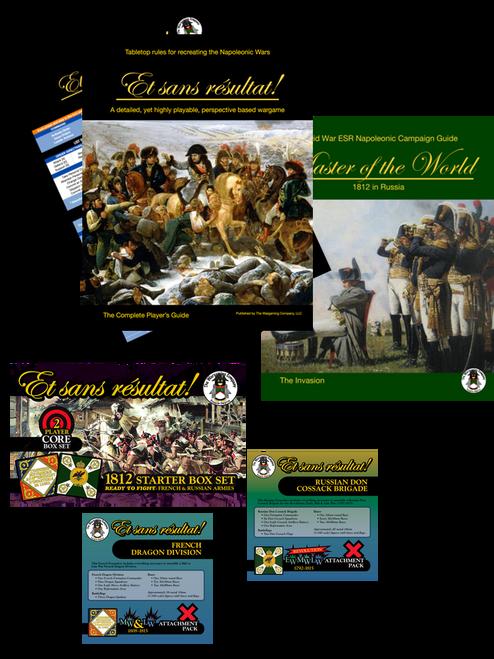 ESR Napoleonics 2 Player 1812 Bundle