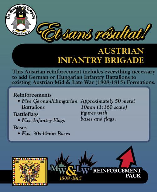 Austrian Infantry Brigade (Mid-Late War) Reinforcement Pack