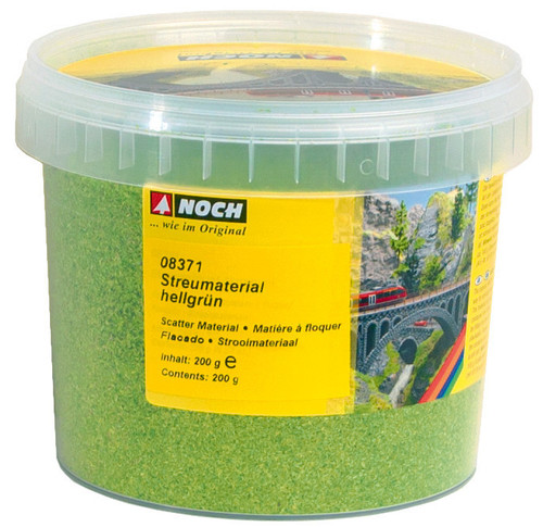 Scatter Flock Light Green (200 grams)