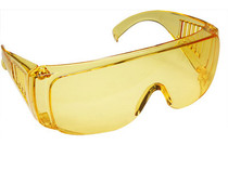 Radians Coveralls Safety Glasses, Amber