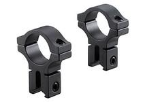 "BKL 30mm Rings, 3/8"" or 11mm Dovetail, Matte Black"