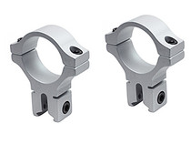 """BKL 30mm Rings, 3/8"""" or 11mm Dovetail, Silver"""