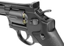 """Dan Wesson 8"""" CO2 BB Revolver, Black"""