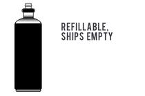 CO2 Tank, 12-oz., Refillable, Ships Empty