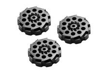 Crosman 0407T Rotary Clips, Fits 357W & Vigilante CO2 Pellet Revolvers, 3pk