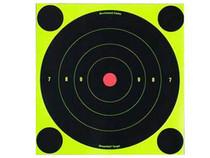 "Birchwood Casey Shoot-N-C Targets, 8"" Bullseye, 6 Targets + 24 Pasters"