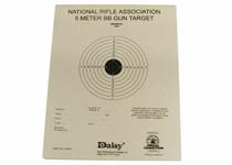 "Daisy Official NRA 5-Meter BB Gun Targets, 6.75""x5.38"", 50ct"