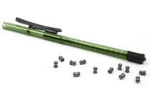 Pellet Pen, Holds 15 .22-Cal Pellets, Green