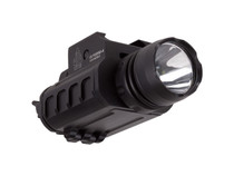 UTG Tactical Pistol Flashlight, 23mm CREE Q5 LED IRB, Quick-Detach Lever Lock Weaver/Picatinny Mount