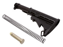 UTG PRO 6-Position Mil-Spec Stock Assembly, Made in USA, Black