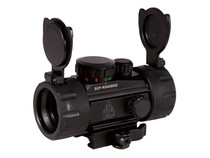 "UTG 1x30 4"" Compact ITA Red/Green Target Dot Sight, 1/2 MOA, Integral Quick-Detach Weaver/Picatinny Mount"