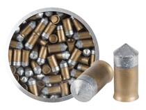 Crosman PowerShot Gold Flight Penetrator Pellets, .177 Cal, 8.5 Grains, Pointed, Lead-Free, 125ct
