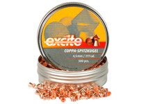 H&N Excite Coppa-Spitzkugel, .177 Cal, 7.56 Grains, Pointed, 500ct