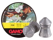 Gamo Magnum .22 Cal, 15.43 Grains, Pointed, 250ct