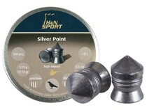 H&N Silver Point .22 cal, 17.13 grains, Pointed, 200ct