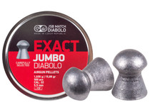 JSB Diabolo Exact Jumbo .22 Cal, 15.89 Grains, Domed, 500ct