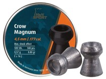 H&N Crow Magnum .177 Cal, 8.80 Grains, Hollowpoint, 500ct