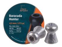 H&N Baracuda Hunter .177 Cal, 10.34 Grains, Hollowpoint, 400ct