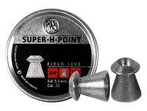 RWS Super-H-Point .22 Cal, 14.2 Grains, Hollowpoint, 200ct