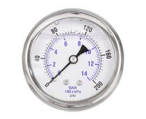 Airburst MegaBoom Replacement Pressure Gauge