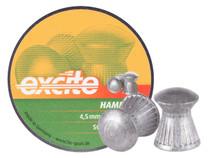 H&N Excite Hammer Pellets, .177 Cal, 7.87 Grains, Domed, 500ct