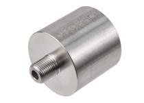"Air Venturi Female DIN Adapter, 1/8"" Male BSPP Threads, Stainless Steel"