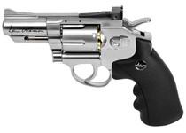 "Dan Wesson 2.5"" CO2 Pellet Revolver, Silver"