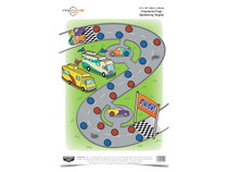 "Birchwood Casey Pregame Checkered Flag Target, 12""x18"", 8ct"