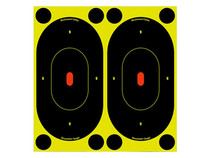 "Birchwood Casey Shoot-N-C Targets, 7"" Silhouette, 12 Targets + 48 Pasters"