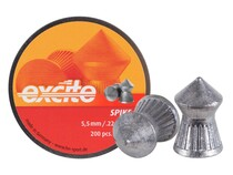 H&N Excite Spike Pellets, .22 Cal, 15.74 Grains, Pointed, 200ct