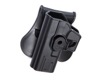 ASG/Strike Systems G Models Paddle Polymer Holster for G19, 23, and M-22 Air & Airsoft Pistols, Black, Left Hand