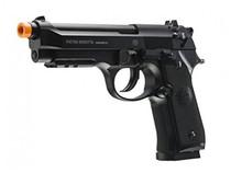 Beretta M92 A1 Semi / Full-Auto CO2 Airsoft Pistol, Black