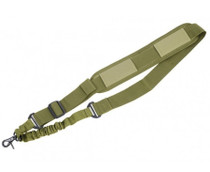 Firepower 1Pt. Bungee Sling, OD Green- PolyBag