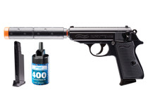 Walther PPK/S Operative Airsoft Pistol Kit, Black