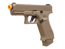 Glock 19X CO2 Blowback Airsoft Pistol, Tan