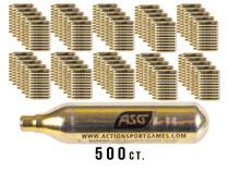ASG UltraAir 12g CO2 Cartridges, 500ct