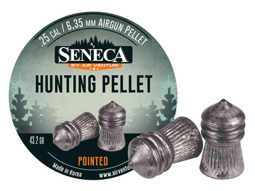 Seneca .25 Cal, 43.2 Grains, Pointed, 83ct